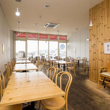 寿司 食べ放題 海の音 マリーナホップ 店の雰囲気1