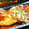 料理メニュー写真鯛あら塩焼or煮付