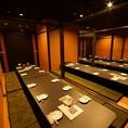 【40名様程度】の個室です!松山市駅周辺で個室の居酒屋と言ったら、若の台所 松山店です♪是非、当店をご利用ください!また、どのようなことでも一度お問い合わせください。できる限り、ご相談にお乗りします!お待ちしております!!