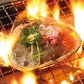 料理メニュー写真かに味噌甲羅焼き