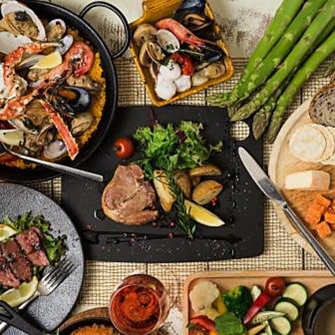 こだわりの道産肉と旬魚介×自然派ワイン