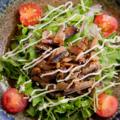 料理メニュー写真屋久島の鯖スモークのサラダ
