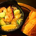 料理メニュー写真豊潤な海老のアヒージョ