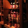 有名どころの日本酒はもちろん、「芋」「麦」「米」「しそ」など様々な種類の焼酎も取り揃えております!お酒好きな方も安心してご来店いただけます♪姫路駅スグの完全個室居酒屋をお探しの方はくつろぎ屋へ!