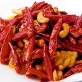 料理メニュー写真鶏肉と唐辛子のピリ辛炒め~辣子鶏丁(ラーヅーチーティン)~