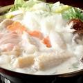料理メニュー写真特製!鶏塩ちゃんこ鍋