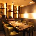 VIP個室完備!デートや各種宴会、接待などにぴったりの空間です。飲み放題のご用意もしております。