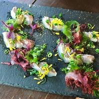 日替わりでオススメの鮮魚や旬菜を使用したお料理♪
