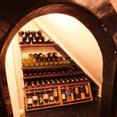 店内には隠れワインセラーが…♪どこにあるか探してみて下さいね