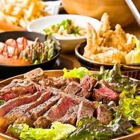 こだわりの肉料理を多数★