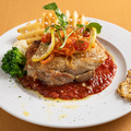 料理メニュー写真大山鶏むね肉のディアブロ風