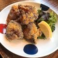 料理メニュー写真若鶏のから揚げ