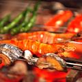 料理メニュー写真本日鮮魚の炭火焼き ~遠火の炭火焼でじっくり焼きあげます~