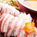 料理メニュー写真鹿児島県産もち豚のしゃぶしゃぶ