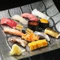 料理メニュー写真おまかせ13貫握り - Sushi 13 Pieces -