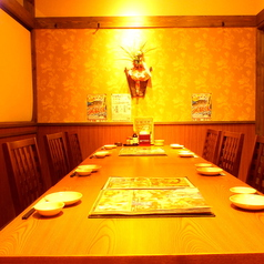 10名程度のテーブル個室[カーテン式]1