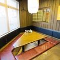 ちょっとした集まりや会合に使いやすい中人数用個室♪