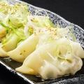 料理メニュー写真水餃子6個
