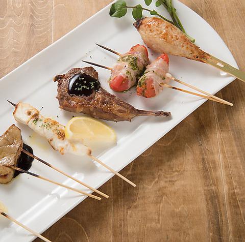 【松介 西中洲店】魚市場直送◎新鮮な魚と福岡産 朝引き鶏をご堪能下さい!