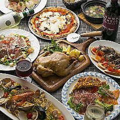 ナポリの食堂 アルバータ アルバータ ALBERTA ALBERTA 大阪マルビル店のコース写真