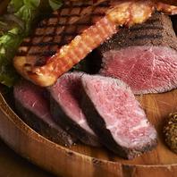 低温調理で仕込んだお肉。