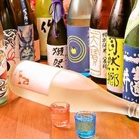 当店自慢のお刺身には是非日本酒がオススメ!