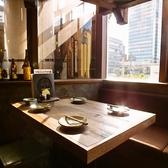 テーブル席も多数完備♪こだわりの鹿児島料理と、薩摩焼酎・九州素材のお酒をお楽しみ頂けます☆