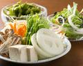 料理メニュー写真野菜盛り合わせ