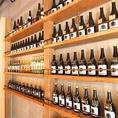 一歩店内に入ると、暖かな雰囲気と壁にズラーっと並ぶ焼酎ボトルがお出迎え☆TakeGushiが気に入ったら、是非ご自分のボトルをキープされてみてはいかが??♪