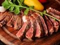 料理メニュー写真国産リブロースステーキ 1g