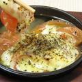 料理メニュー写真トマトチーズ鉄板焼き