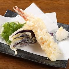 天ぷら盛合せ / 海老の天ぷら
