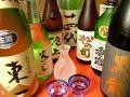 料理メニュー写真各種プレミア日本酒
