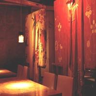 個室~半個室も沢山~雅・和モダン~優雅な空間