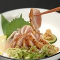 料理メニュー写真薩摩鶏ももたたき