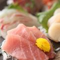 料理メニュー写真● 朝〆直送 鮮魚☆ 本日の3点盛り ●