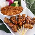 料理メニュー写真【Recommend】シンガポールサテー(鶏・豚)
