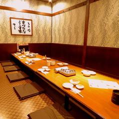 お座敷宴会は36名様までOK!ご宴会に最適なコースや飲み放題も豊富にご用意しております◎