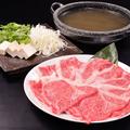 料理メニュー写真新潟名物★村上牛のしゃぶしゃぶ