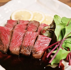 高知県産 A5ランク 黒毛和牛炙りステーキ