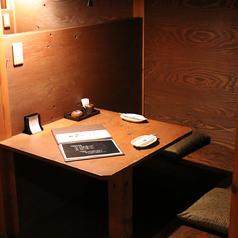 プライベートな空間で落ち着いてお食事をお召し上がりいただけます。