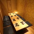 少人数用個室もございます!広めのお席へのご案内も可能です◎ご予約時にお問い合わせください!