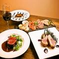 【オススメ2】東京の有名店で修業したシェフのフレンチ&イタリアンのシェフのお料理がお手頃で♪