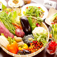 契約農家から直接仕入れる朝獲れの新鮮野菜×しゃぶしゃぶ食べ放題!旬の野菜を使ったメニューも多数ご提供しております♪