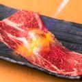 料理メニュー写真大判炙り和牛寿司