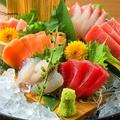 料理メニュー写真鮮魚の豪華盛り合わせ!