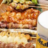 これからの季節食べたくなるのが串焼き!ビールのお共にぴったり♪種類も取り揃え豊富なのでぜひ味わってください