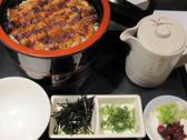 【喜久味はランチもやっています!!】うなぎ丼定食 1500円(税込)