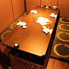 4名様程度の個室です!!岡山駅周辺で個室の居酒屋と言ったら、若の台所岡山駅前店です♪是非、当店をご利用ください!お待ちしております!!