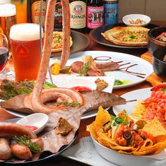 ビリー バルーズ ビアバー 恵比寿店のコース写真